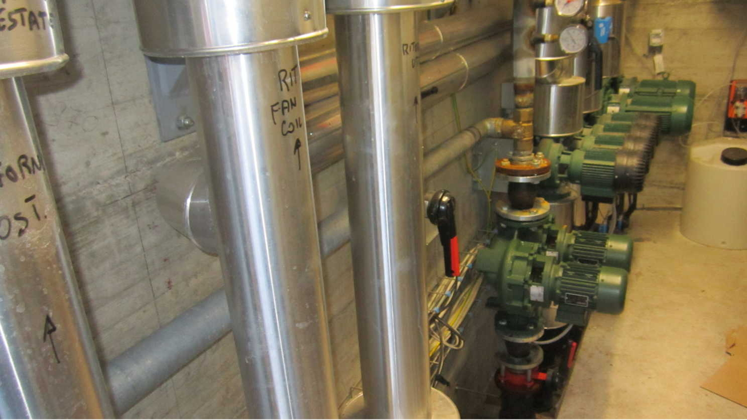 impianto meccanico industriale