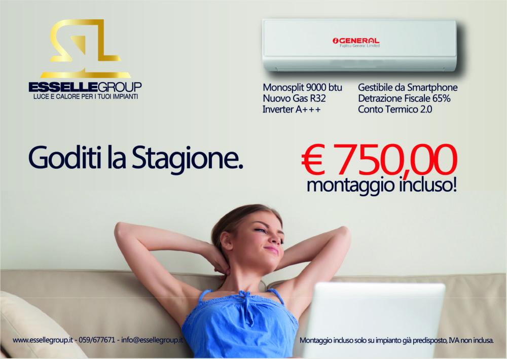Offerta climatizzatore a Modena e provincia